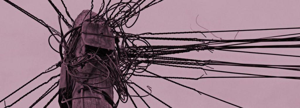Chaos bei Stromleitungen
