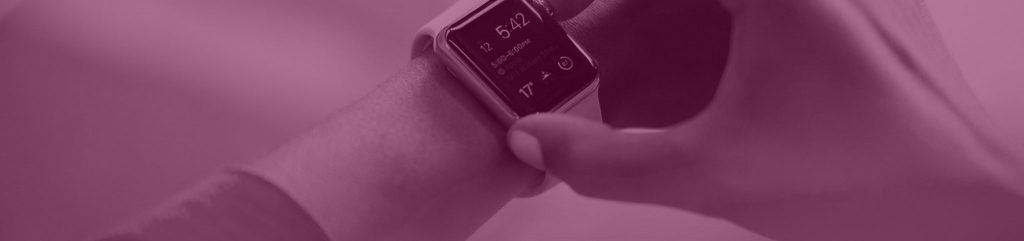 Smart Watch an Arm