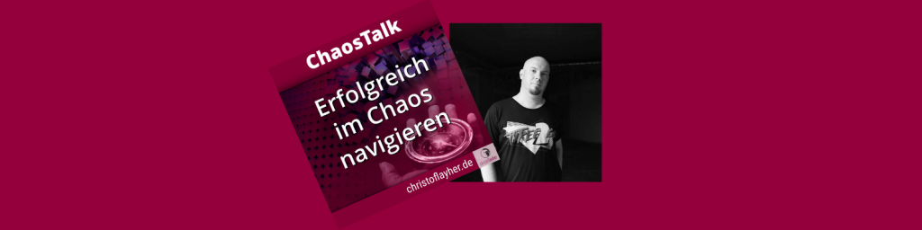 Sebastian Weiss, als Gast im ChaosTalk Podcast