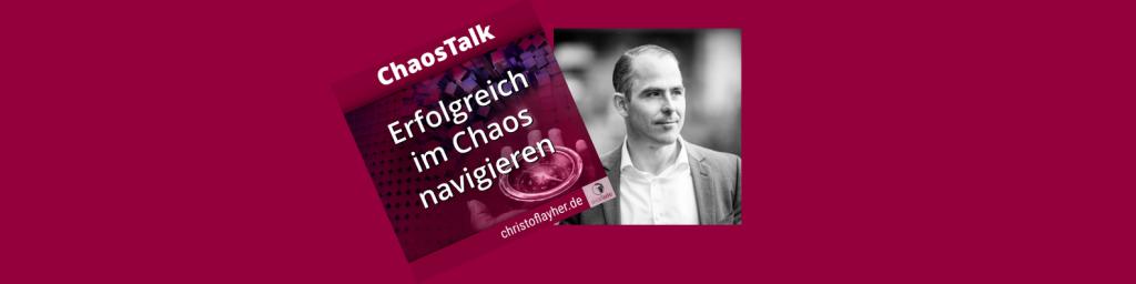 Florian Hochenrieder, als Gast im ChaosTalk Podcast