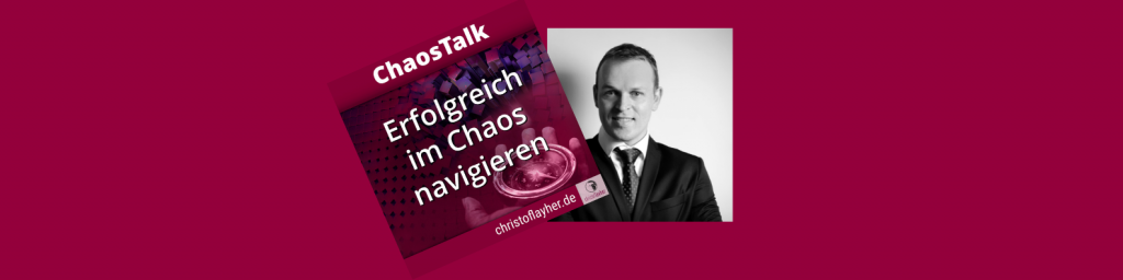 Andreas Müller, als Gast im ChaosTalk Podcast