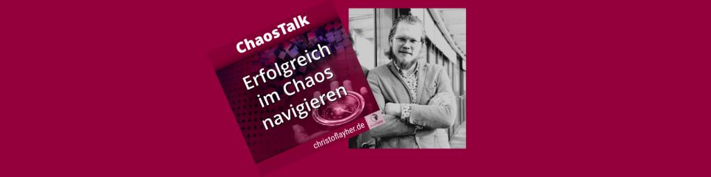 Tim Robert Zander, als Gast beim ChaosTalk Podcast